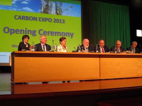 Inauguración de la Carbon Expo 2013