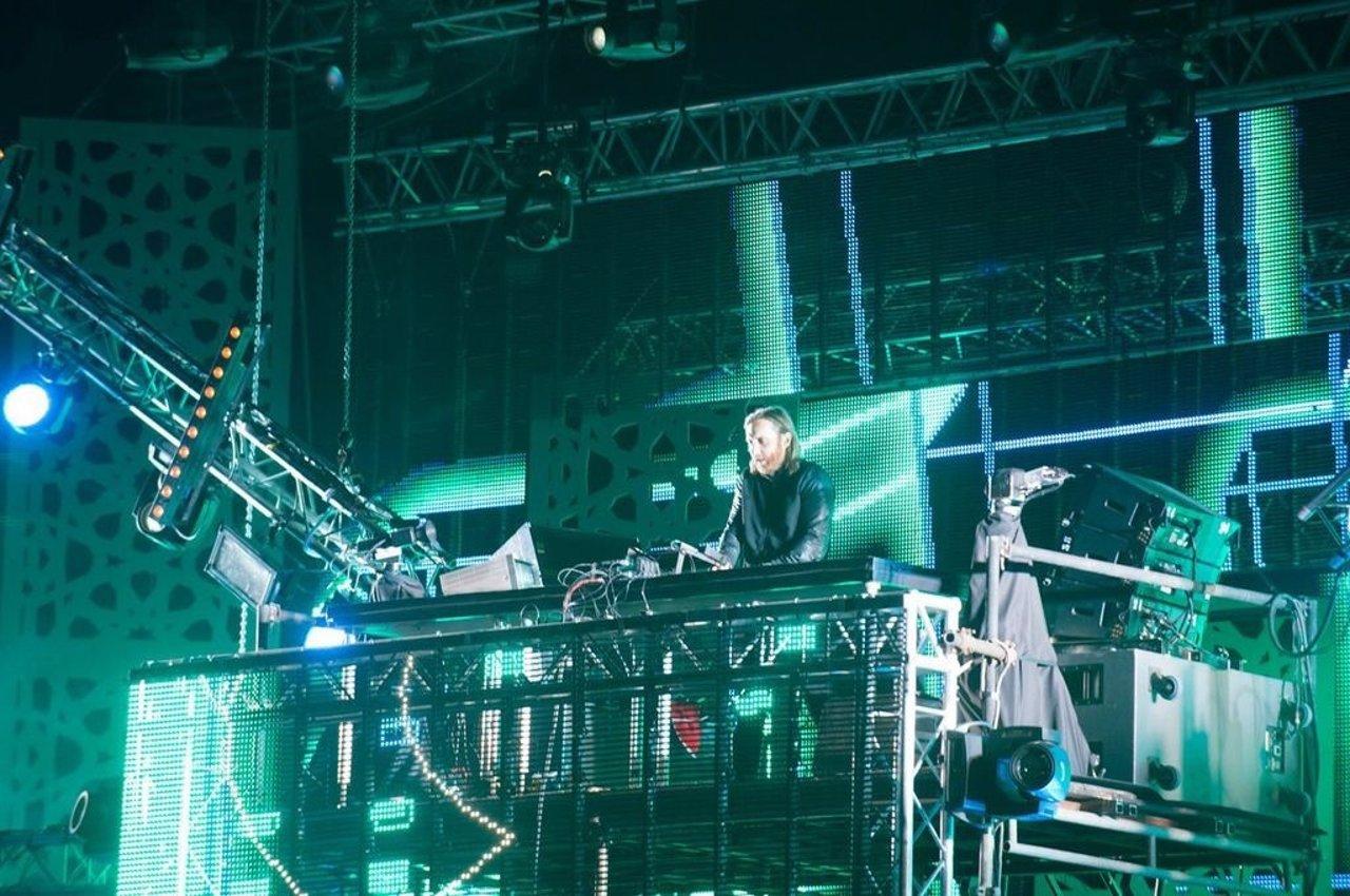 David Guetta actuó ayer ante 100.000 personas en el Mawazine