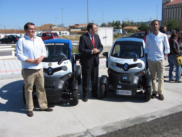 Vehículos participantes en la iniciativa 'Mi ciudad inteligente'
