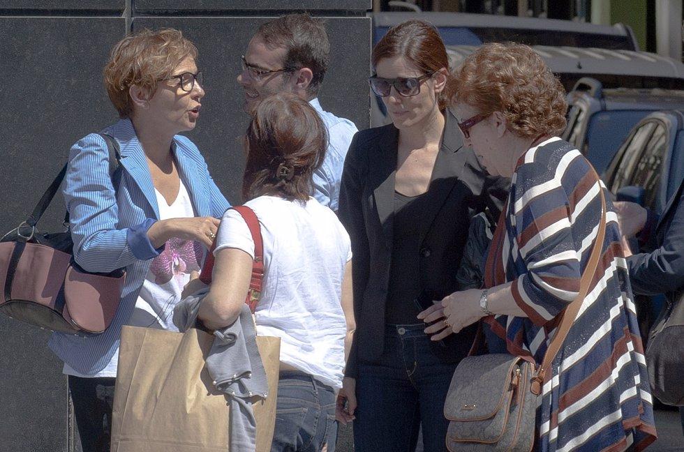 Raquel Sánchez Silva acompañada por sus seres queridos