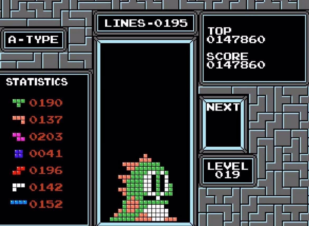 Un algoritmo crea personajes de videojuegos con el Tetris