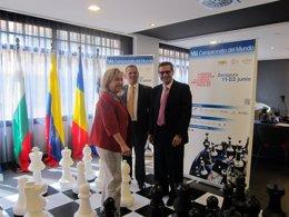 Unos 14 equipos participan en el VII Campeonato del Mundo de Ajedrez para Ciegos