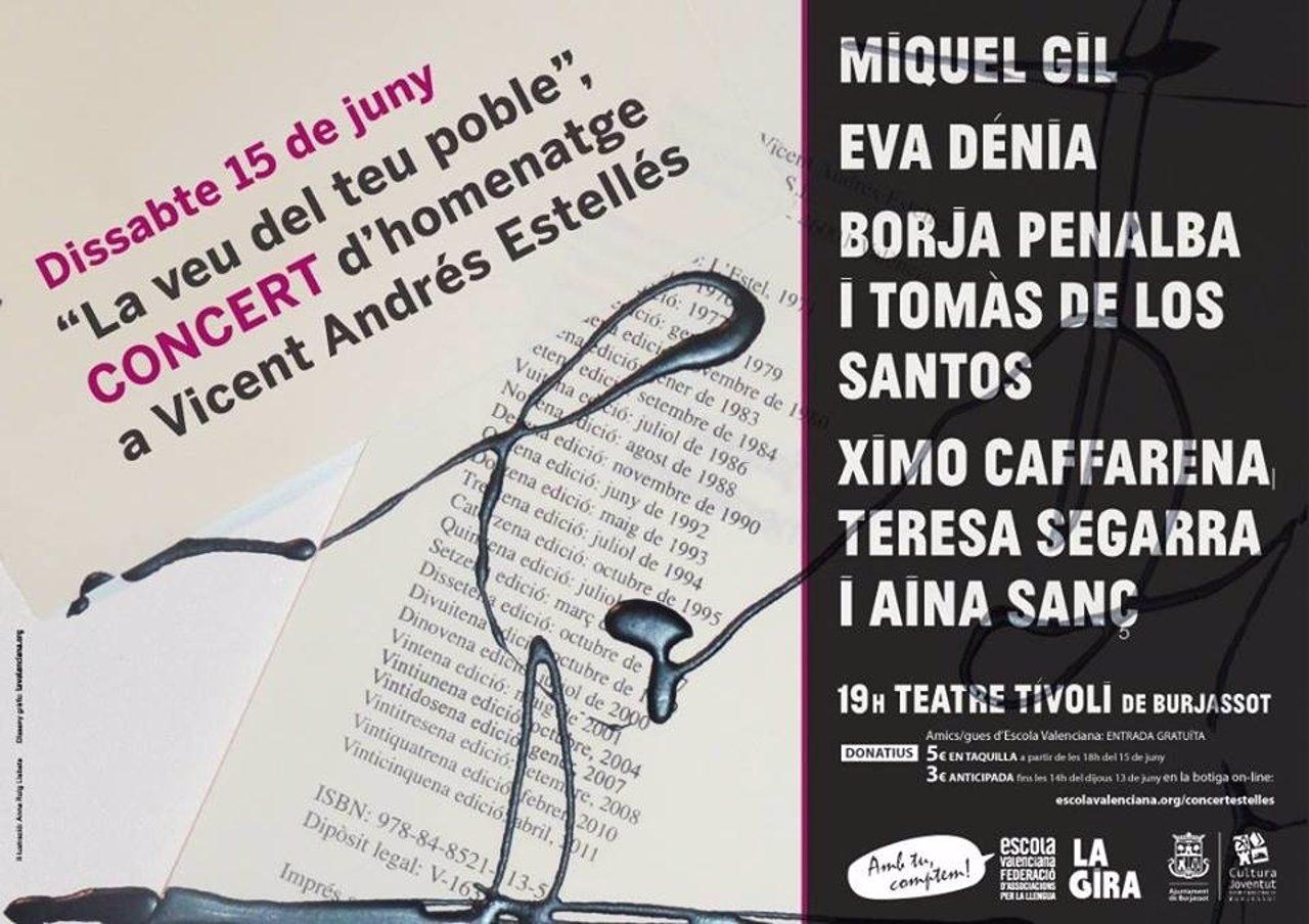 La Veu Del Teu Poble, Un Nuevo Homenaje A Vicent Andrés Estellés En Burjassot