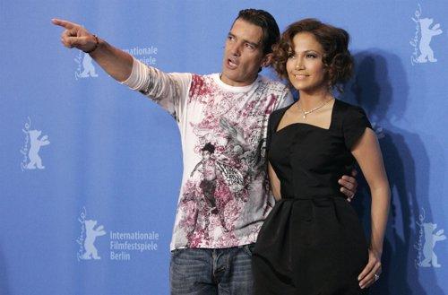 Antonio Banderas y Jennifer Lopez