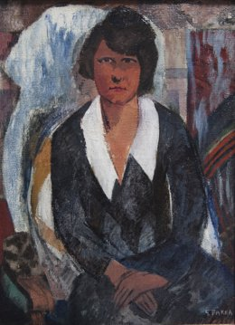Retrato femenino, de Ginés Parra