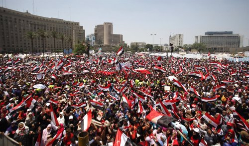 Nueva manifestación en la plaza Tahrir en la que piden la dimisión de Mursi