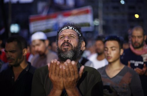 Protestante apoya a Mursi en Egipto