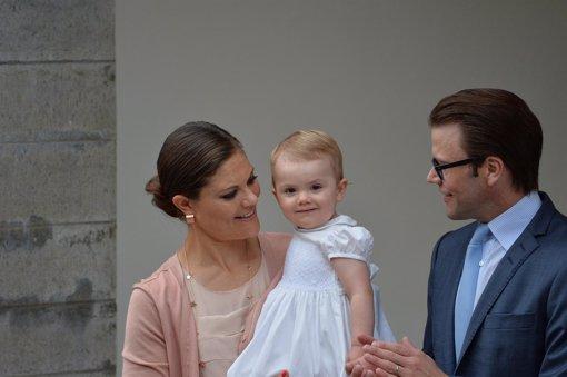 La princesa Estelle, la verdadera protagonista del dia de Victoria de Suecia