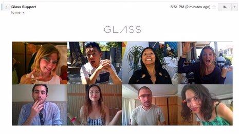 Invitación Google Glass