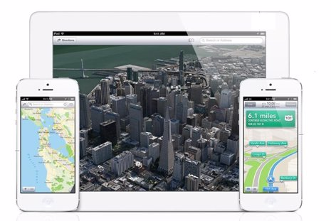 App Mapas de Apple