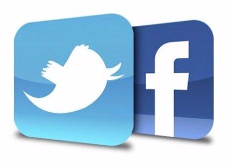Icono Twitter y facebook