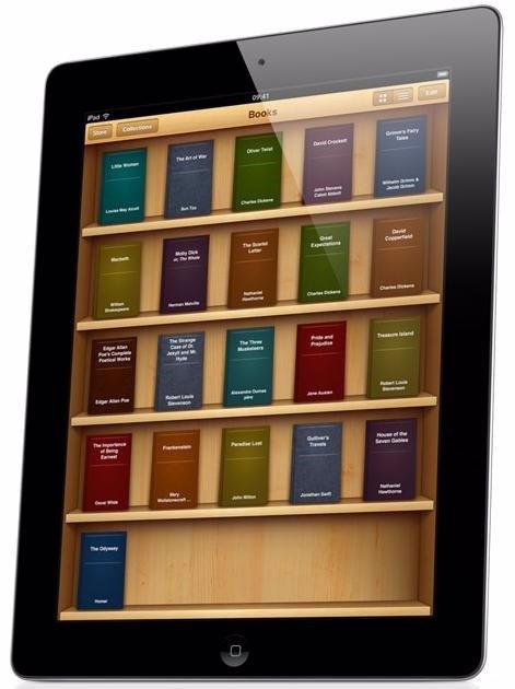 IBooks iBookstore de Apple iPad www.Europapress.Es/portaltic