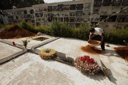 Fosa común cementerio de Ronda