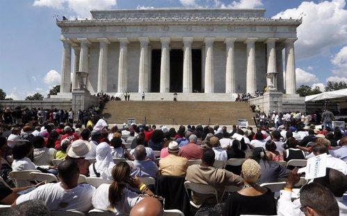 Miles de personas recuerdan el legado de Martin Luther King en el 50 aniversario