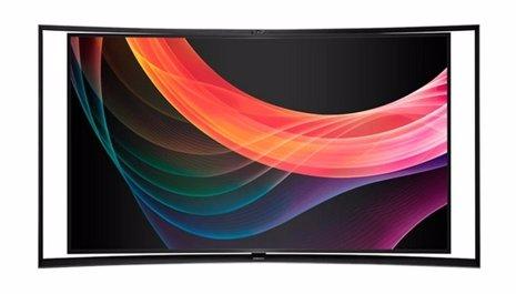 Televisor curvado 4K de Samsung