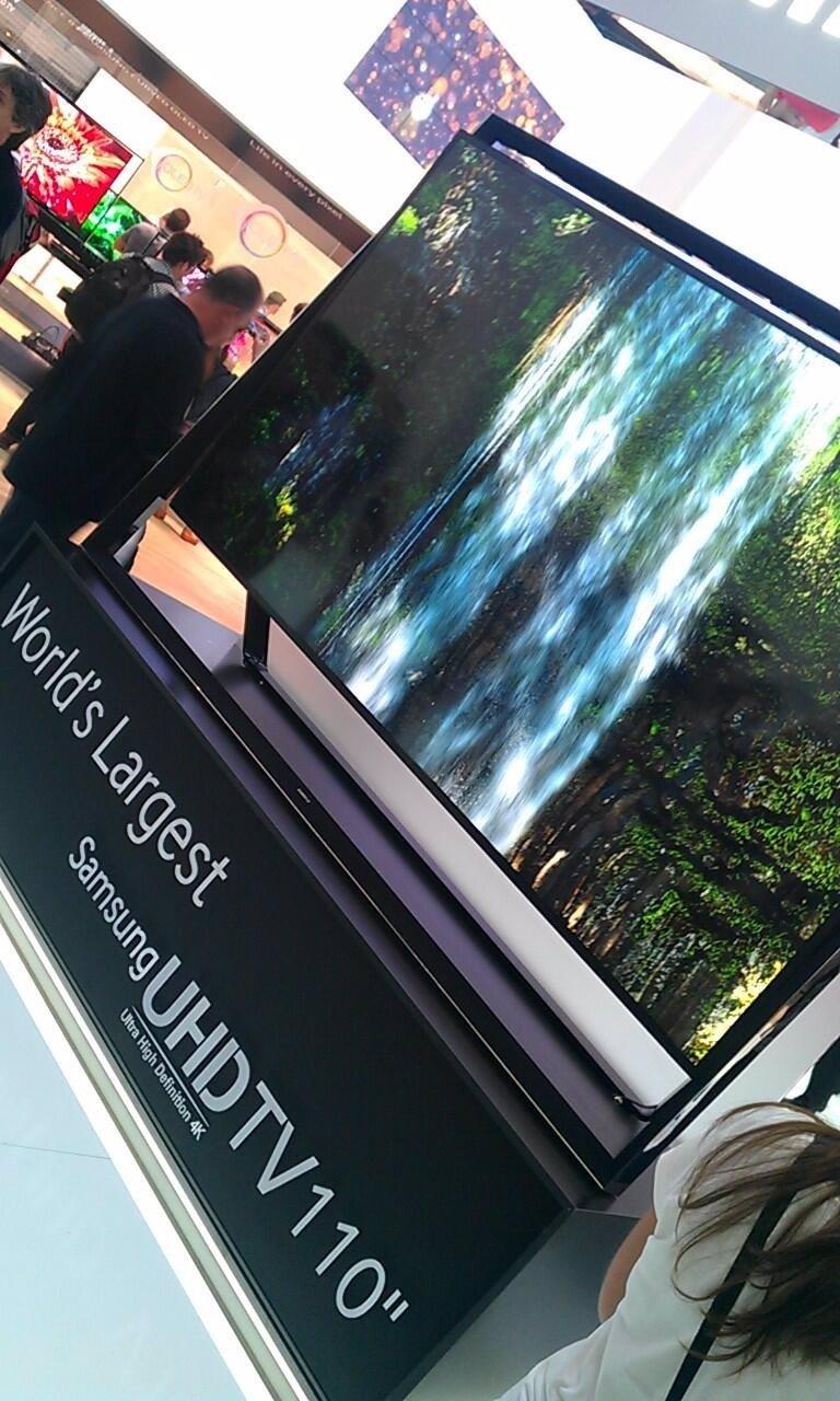 Samsung presenta sus nuevos televisores UHD de hasta 110 pulgadas y un