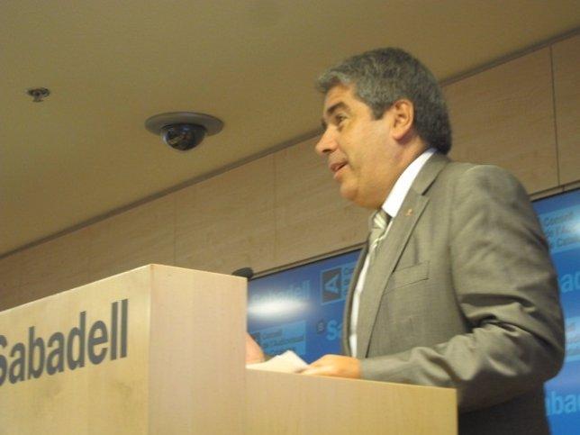 El portavoz del Govern, Francesc Homs, participa en el Forum de la Comunicació