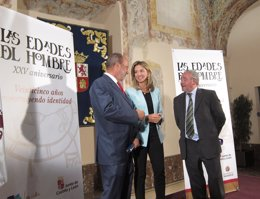 De la Riva, García y Jiménez presenta los actos de 25 años de Las Edades