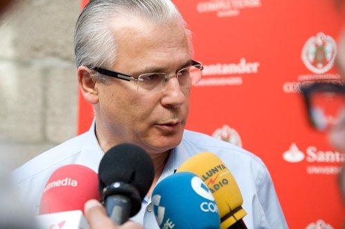 Baltasar Garzón en El Escorial