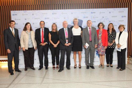 Imagen de algunos de los asistentes al 'X Foro Senpe-Abbott'