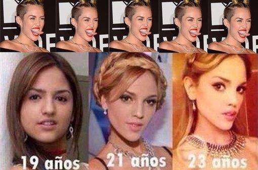 Miley cyrus se ríe de Eiza gonzález
