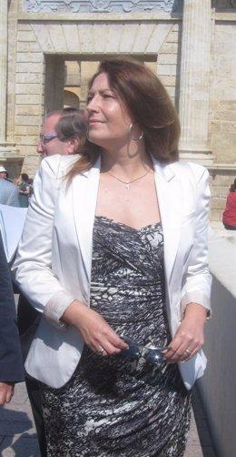 La delegada del Gobierno en Andalucía, Carmen Crespo