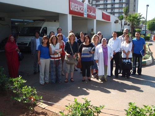 Imagen de un momento del viaje a Marruecos de Enfermeras Para el Mundo