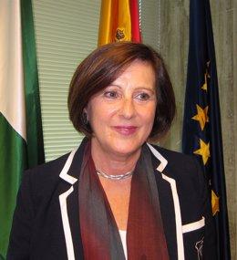 María José Sánchez Rubio,  consejera de Igualdad, Salud y Políticas Sociales