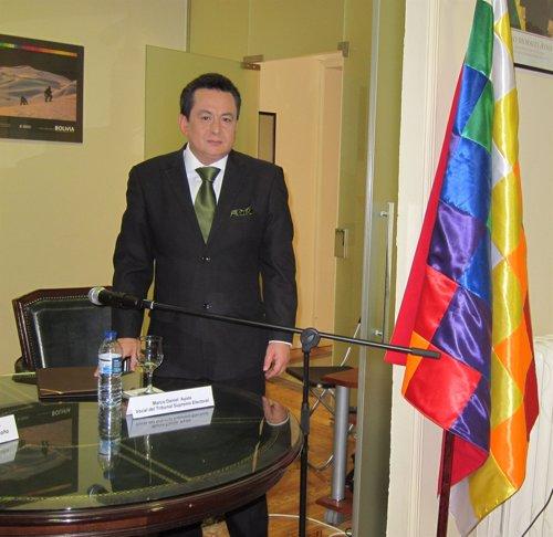 Miembro del Tribunal Supremo Electoral de Bolivia, Marco Daniel Ayala