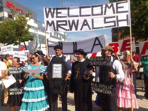 Manifestación Iberia