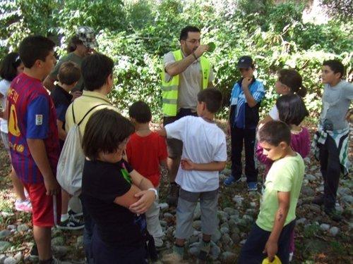 Visita interpretativa con los alumnos