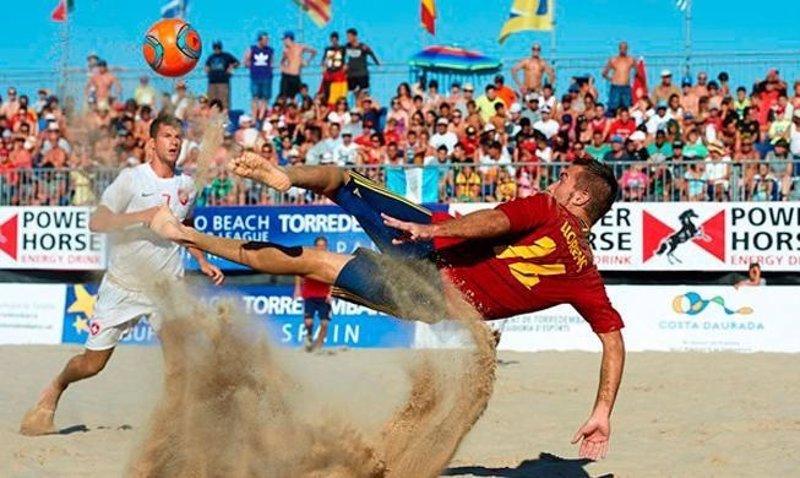 mundial futbol playa uruguay brasil: