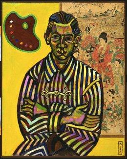 Joan Miró. Retrato de Enric Cristòfol Ricart. 1917.