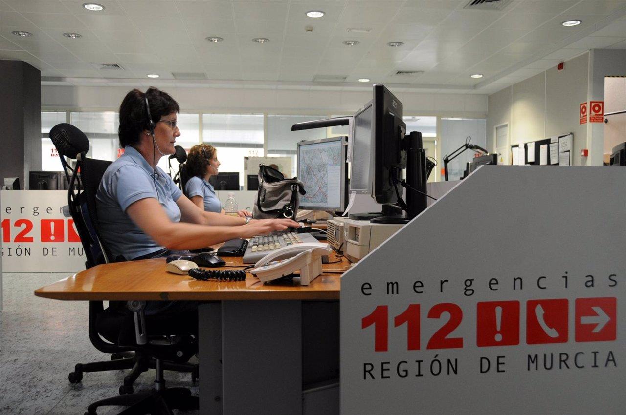 Sala Del Servicio De Emergencias '1-1-2' Región De Murcia