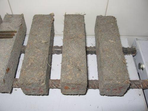 Mortero de cemento a partir de residuos de posidonia oceánica
