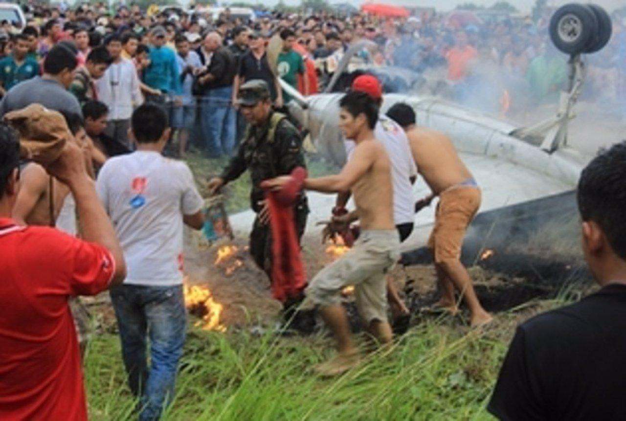 Accidente de avión en Bolivia