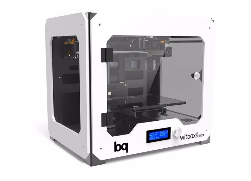 Bq Lanza Su Primera Impresora 3d Bq Witbox