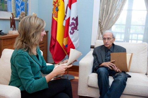 Encuentro entre Alicia García y José Luis Alonso de Santos