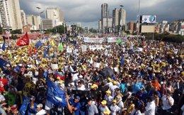 MANIFESTACION EN VENEZUELA
