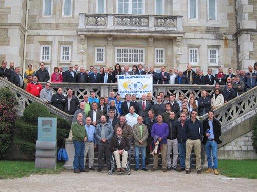 Reunión sectorial de deporte en el Palacio de la Magdalena