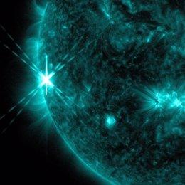 El Sol, llamarada solar
