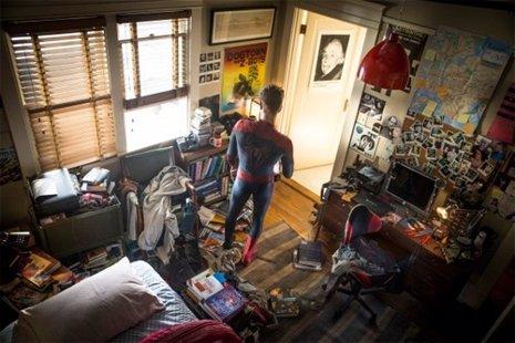 Andrew Garfield como Spiderman en las nuevas imágenes de The Amazing Spider-Man
