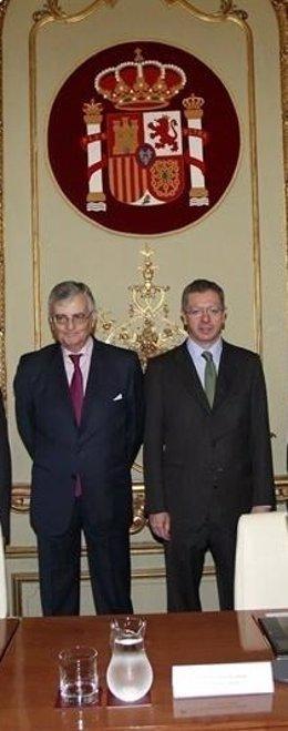 Eduardo Torres Dulce y Alberto Ruiz Gallardón