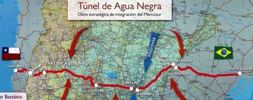 Proyecto de túnel entre Argentina y Chile