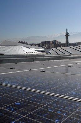 Cubierta fotovoltaica del Parque de las Ciencias