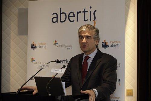 Francisco Reynés,  consejero delegado de Abertis, en París