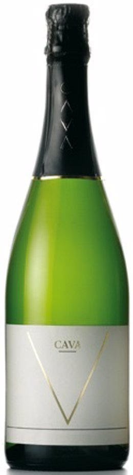 Botella de cava Gran Reserva
