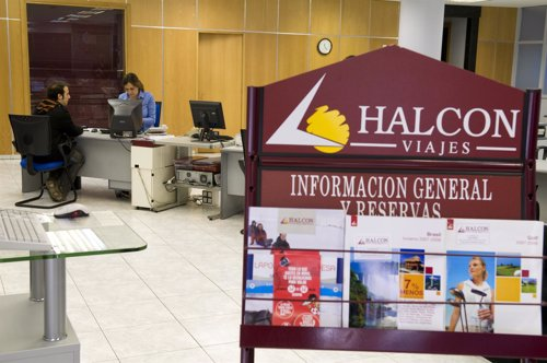 Halc n viajes publicita tenerife en la web de un diario nacional usando la foto del faro de - Oficinas viajes halcon ...