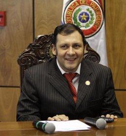 El senador Víctor Bogado.