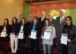 Entrega de los Premios andaluces de Trayectorias Académicas